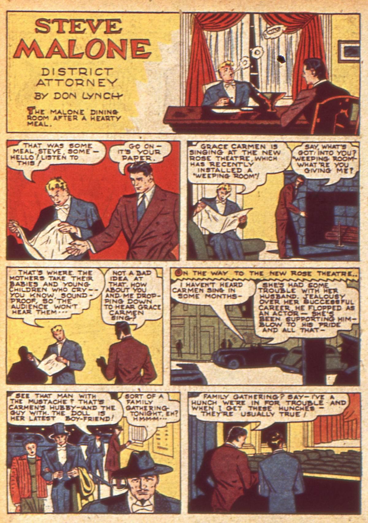 Read online Detective Comics (1937) comic -  Issue #49 - 52