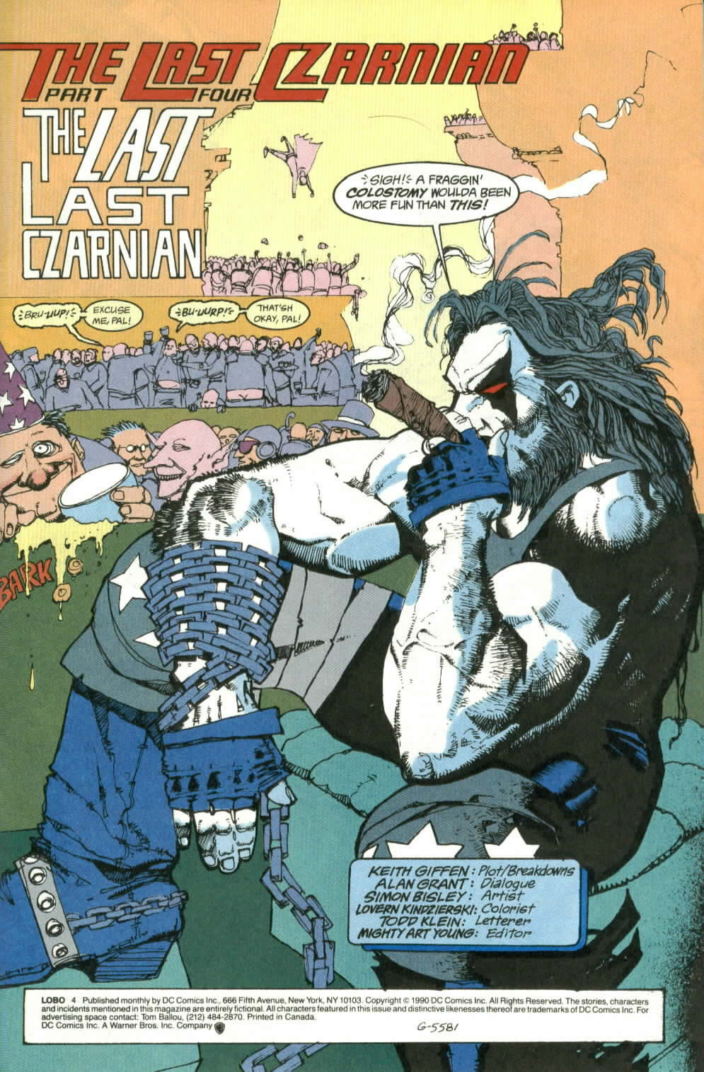 Read online Lobo (1990) comic -  Issue #4 - 2