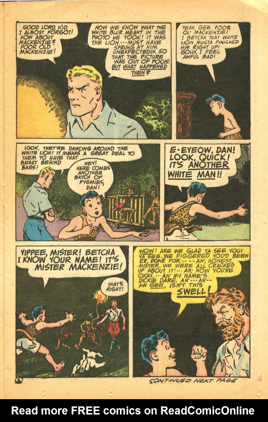 Read online Famous Funnies comic -  Issue #119 - 21