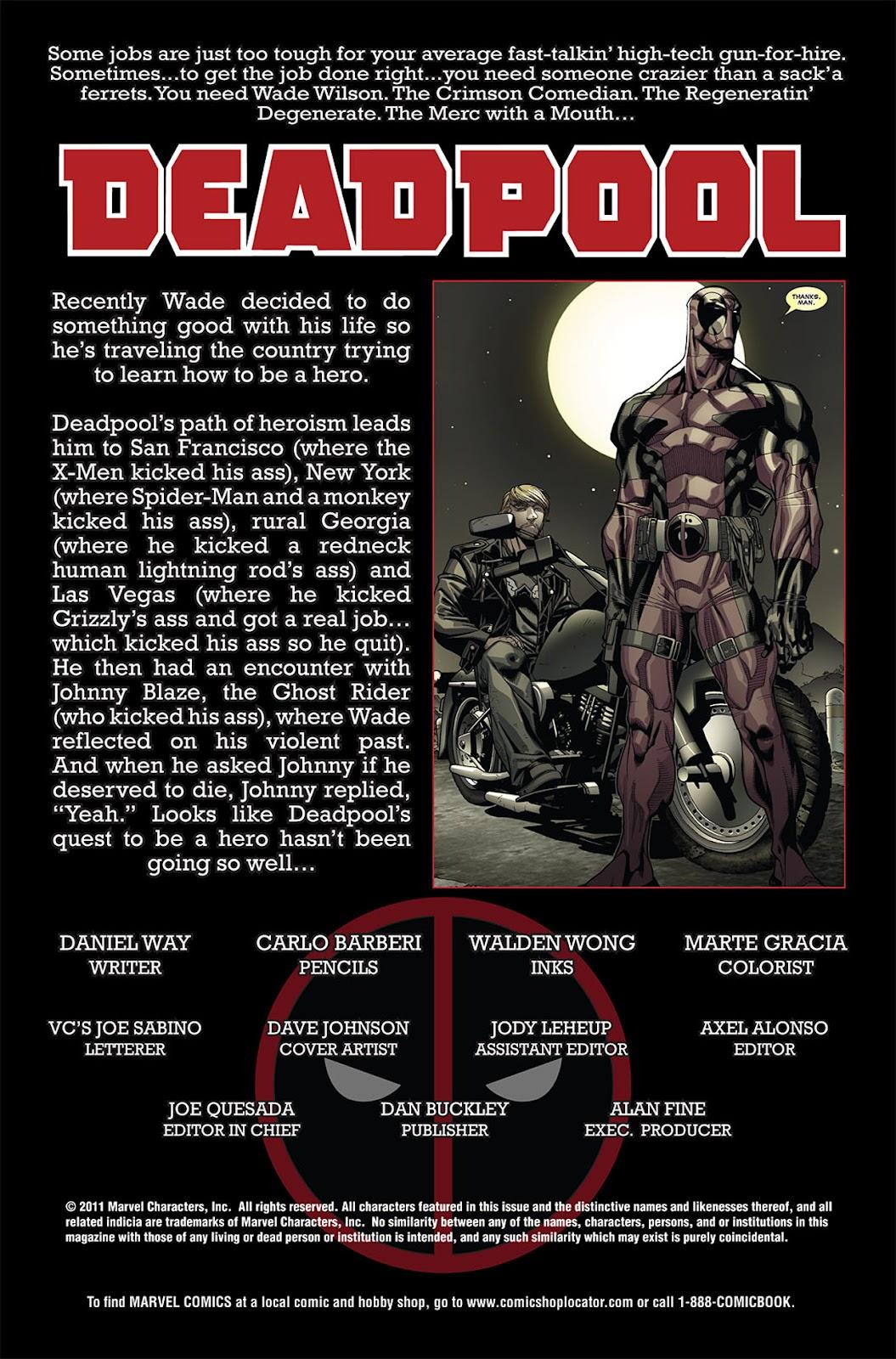 Read online Deadpool (2008) comic -  Issue #27 - 2