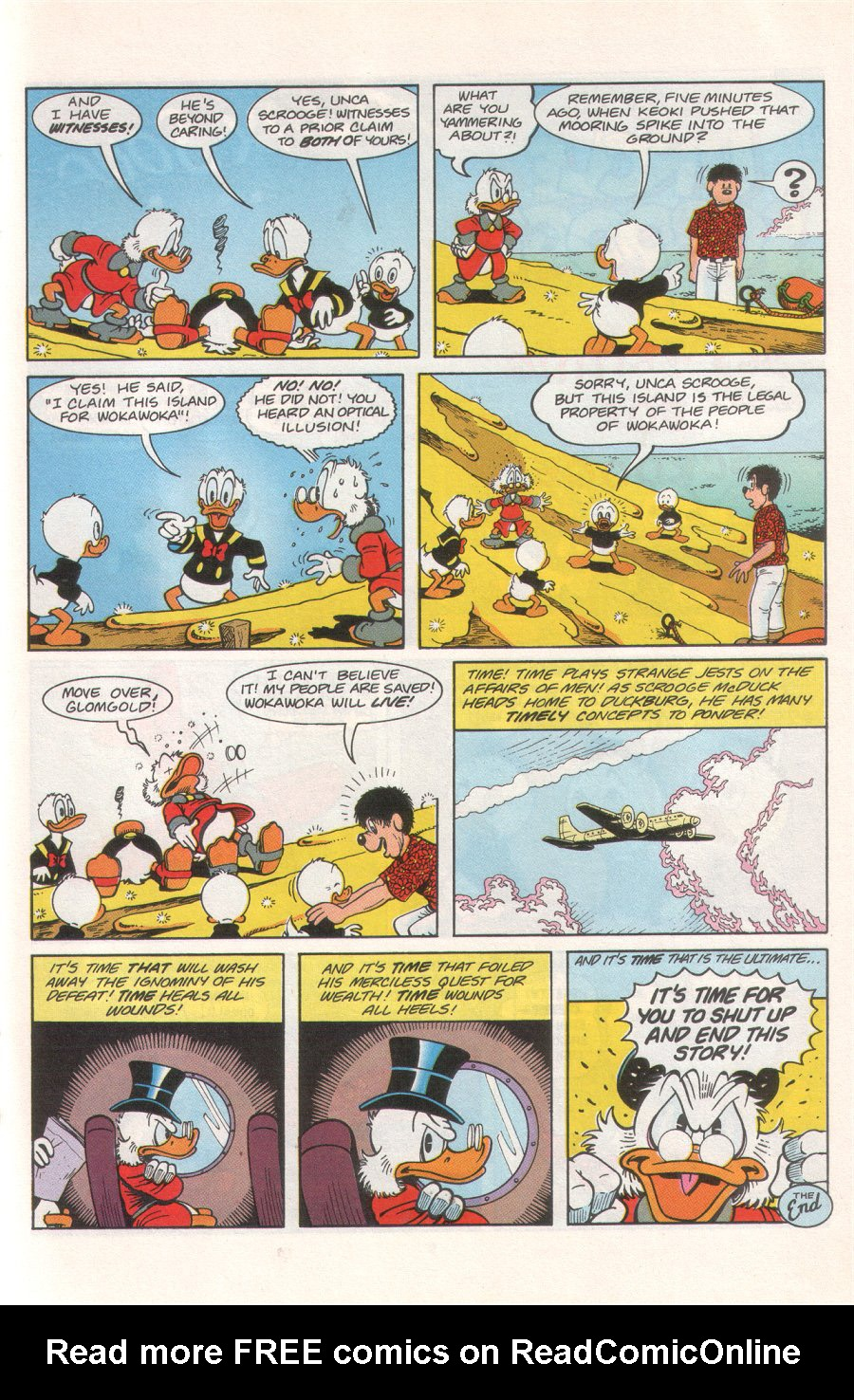 Read online Uncle Scrooge (1953) comic -  Issue #276 - 19