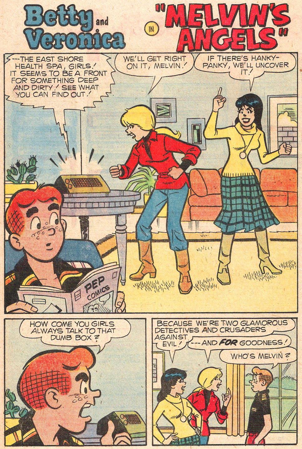 Read online Archie's Girls Betty and Veronica comic -  Issue #277 - 20
