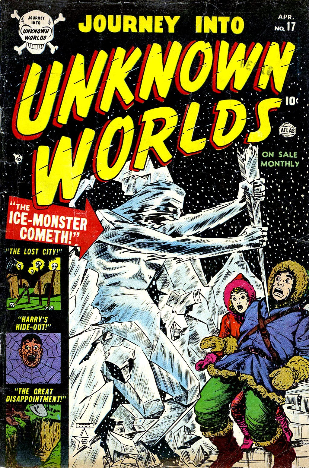 Journey Into Unknown Worlds (1950) issue 17 - Page 1