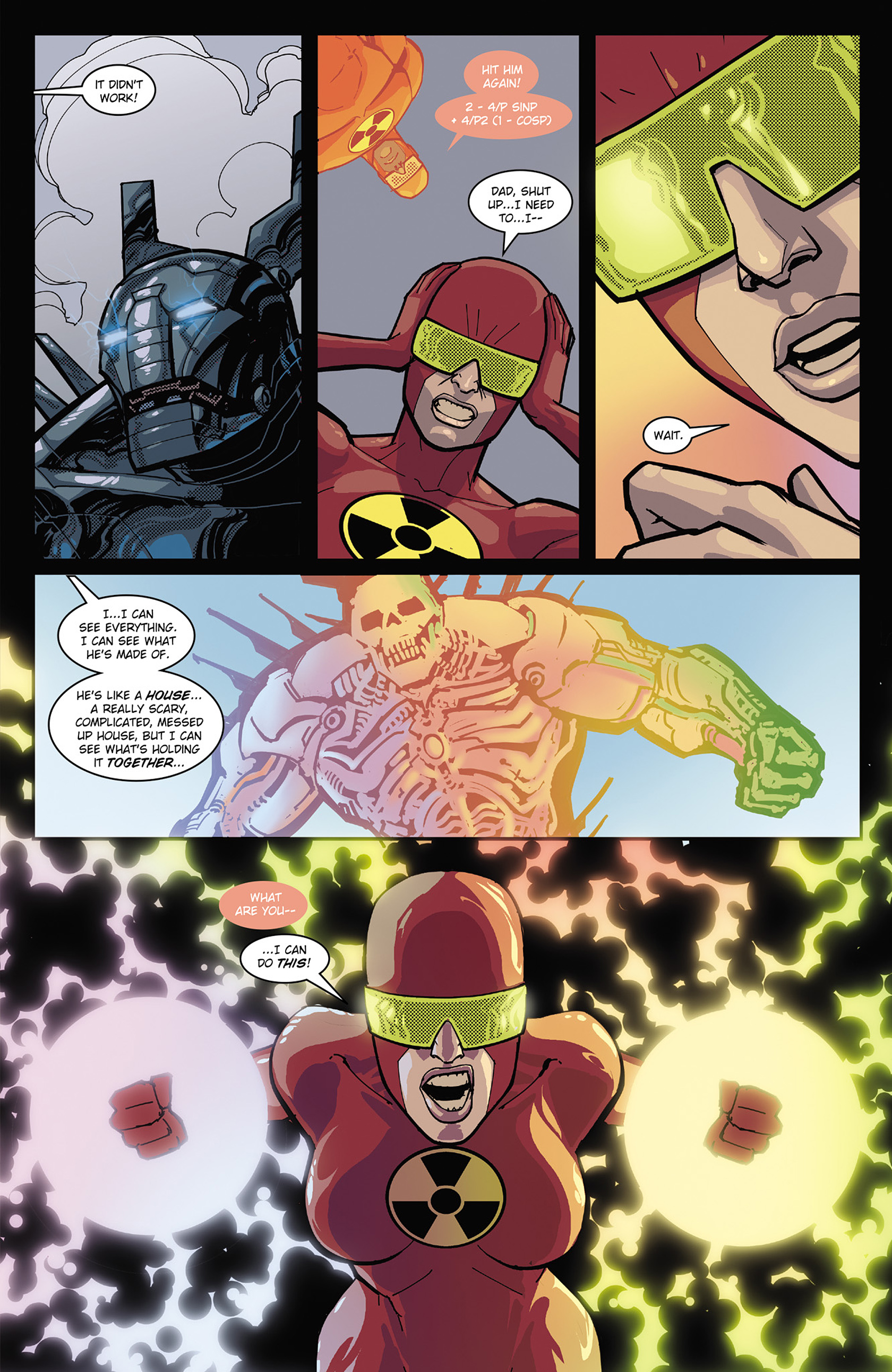 Read online Solar: Man of the Atom (2014) comic -  Issue #3 - 21