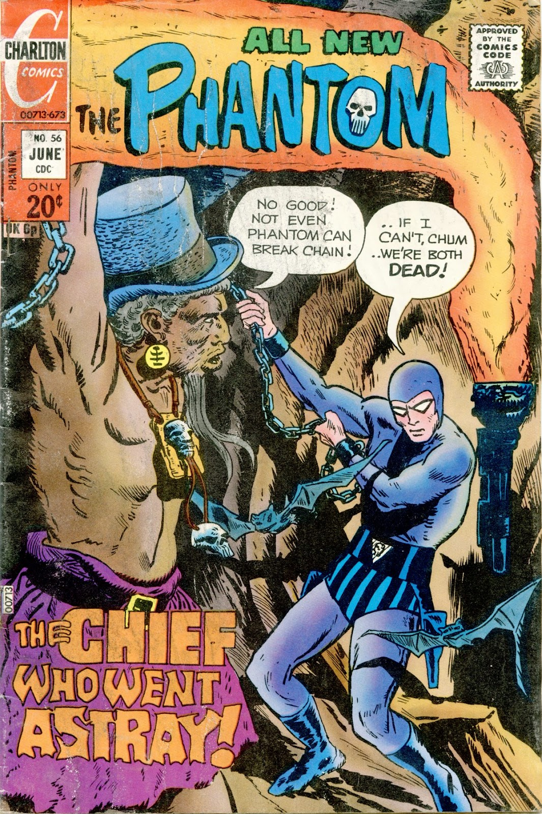 The Phantom (1969) issue 56 - Page 1