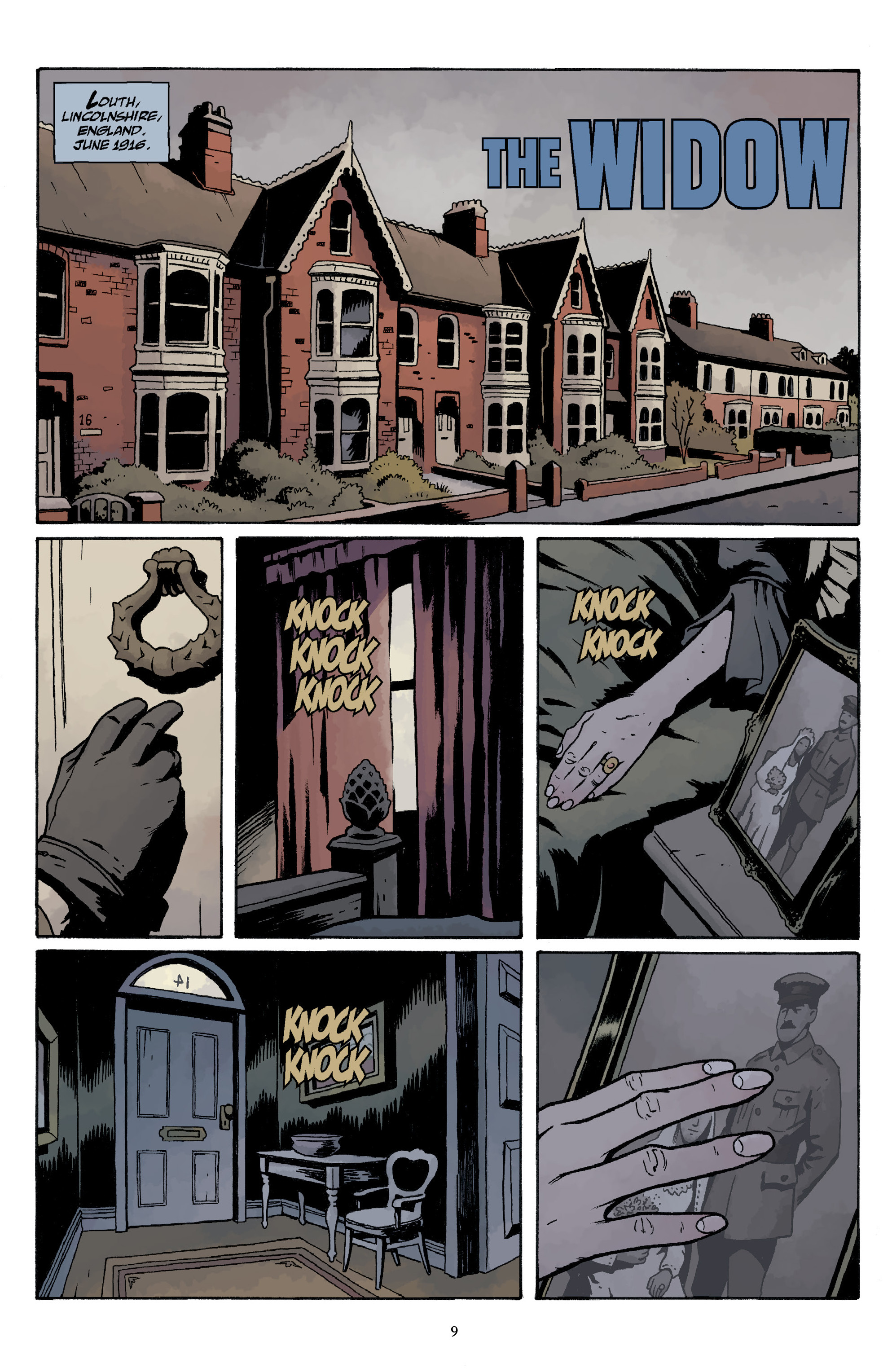 Read online Baltimore Volume 3: A Passing Stranger and Other Stories comic -  Issue # Full - 11