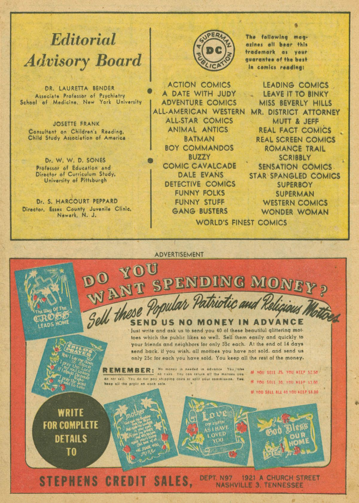 Read online Adventure Comics (1938) comic -  Issue #142 - 23
