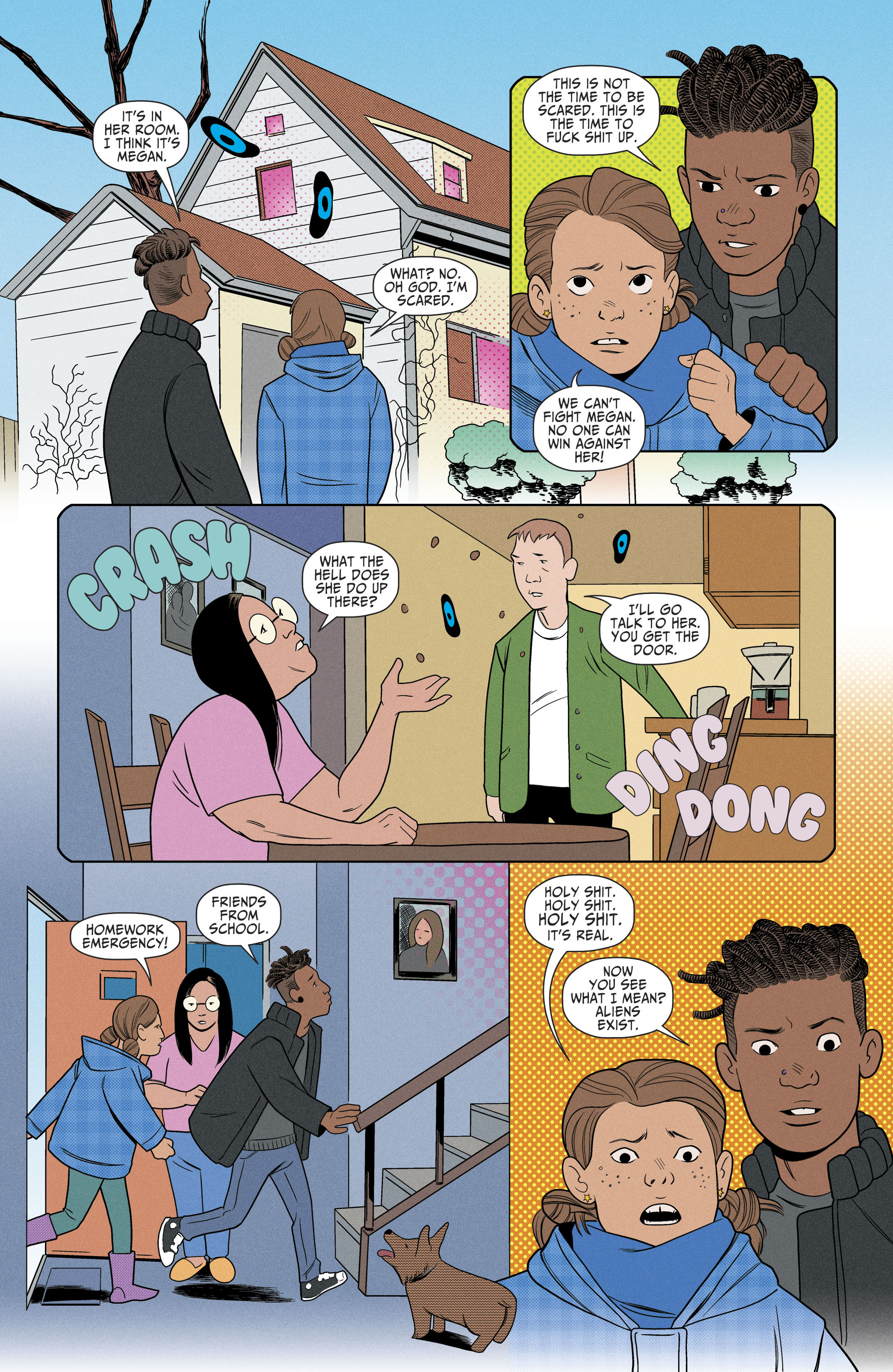 Read online Shade, the Changing Girl comic -  Issue #6 - 19