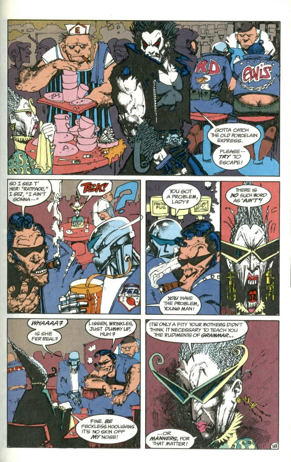 Read online Lobo (1990) comic -  Issue #1 - 19