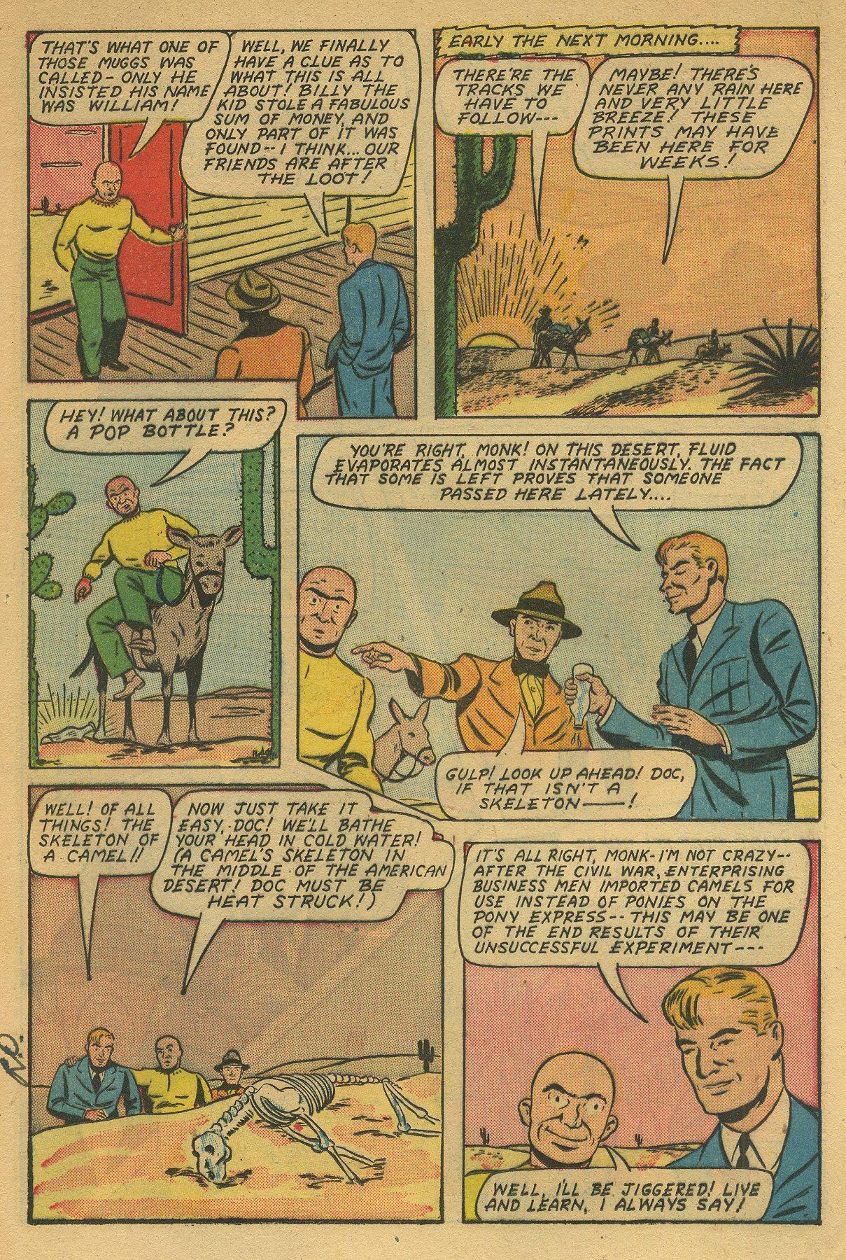 Read online Shadow Comics comic -  Issue #49 - 21