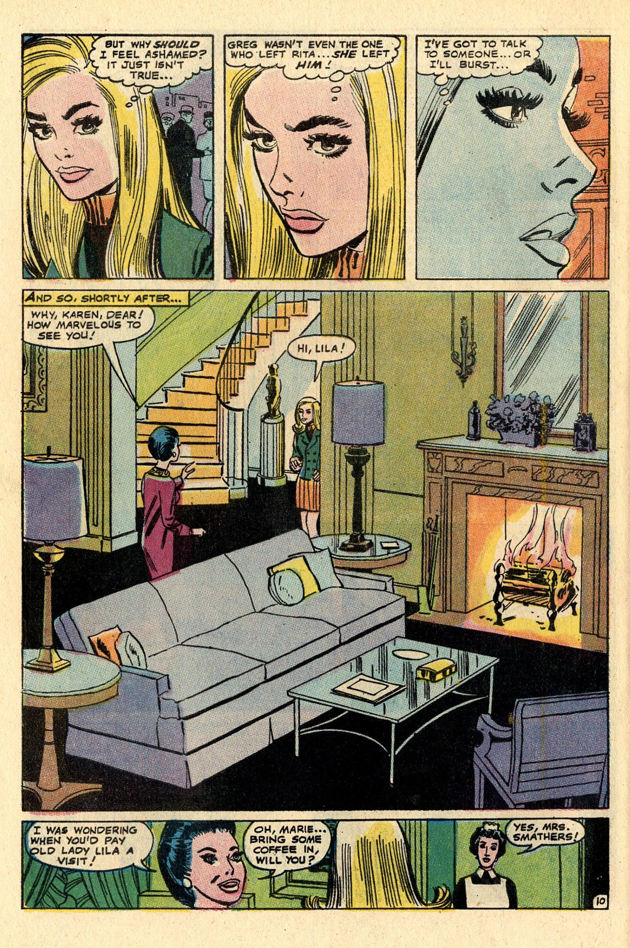 Read online Secret Hearts comic -  Issue #137 - 28
