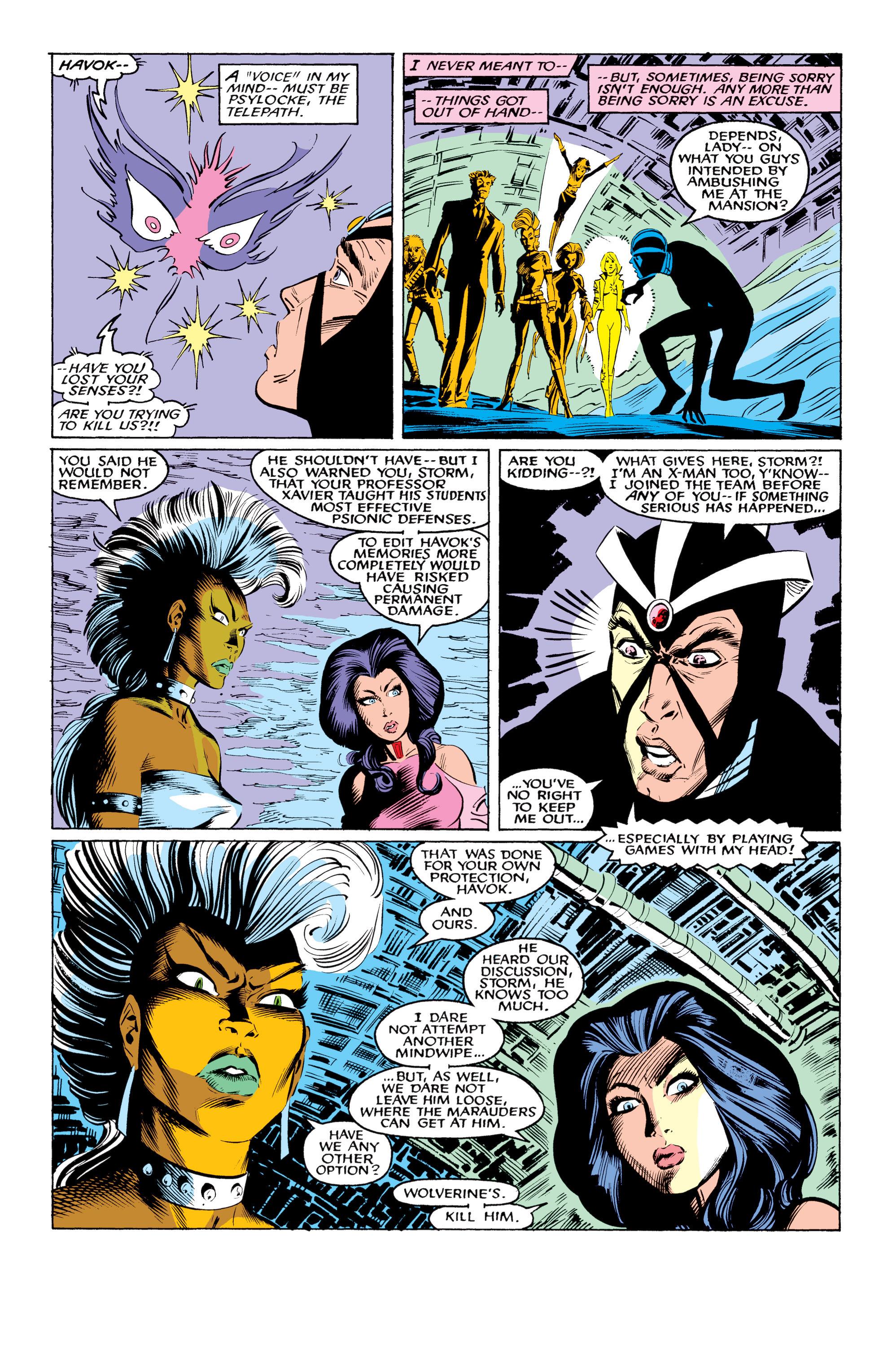 Read online Uncanny X-Men (1963) comic -  Issue #219 - 22