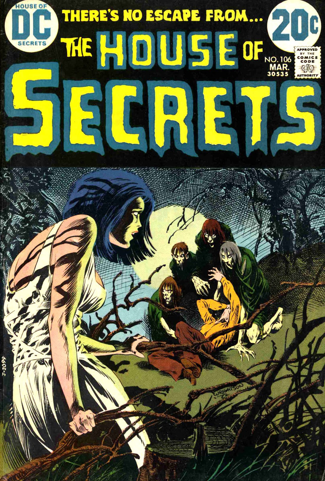 House of Secrets (1956) issue 106 - Page 1