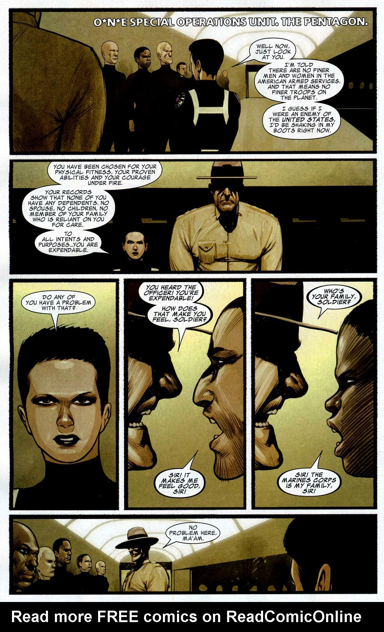 Read online Silent War comic -  Issue #4 - 18