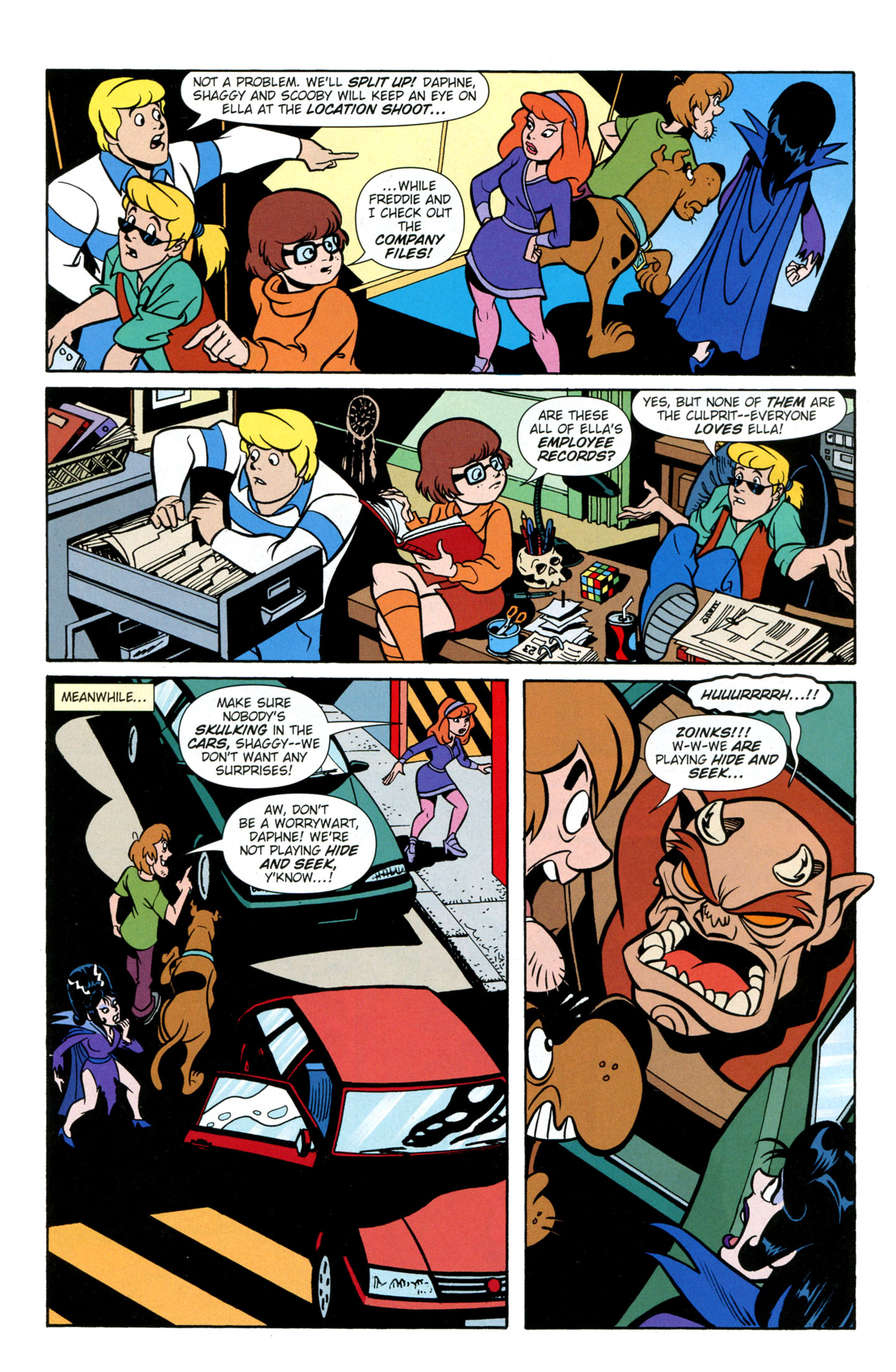 Read online Scooby-Doo: Where Are You? comic -  Issue #26 - 25