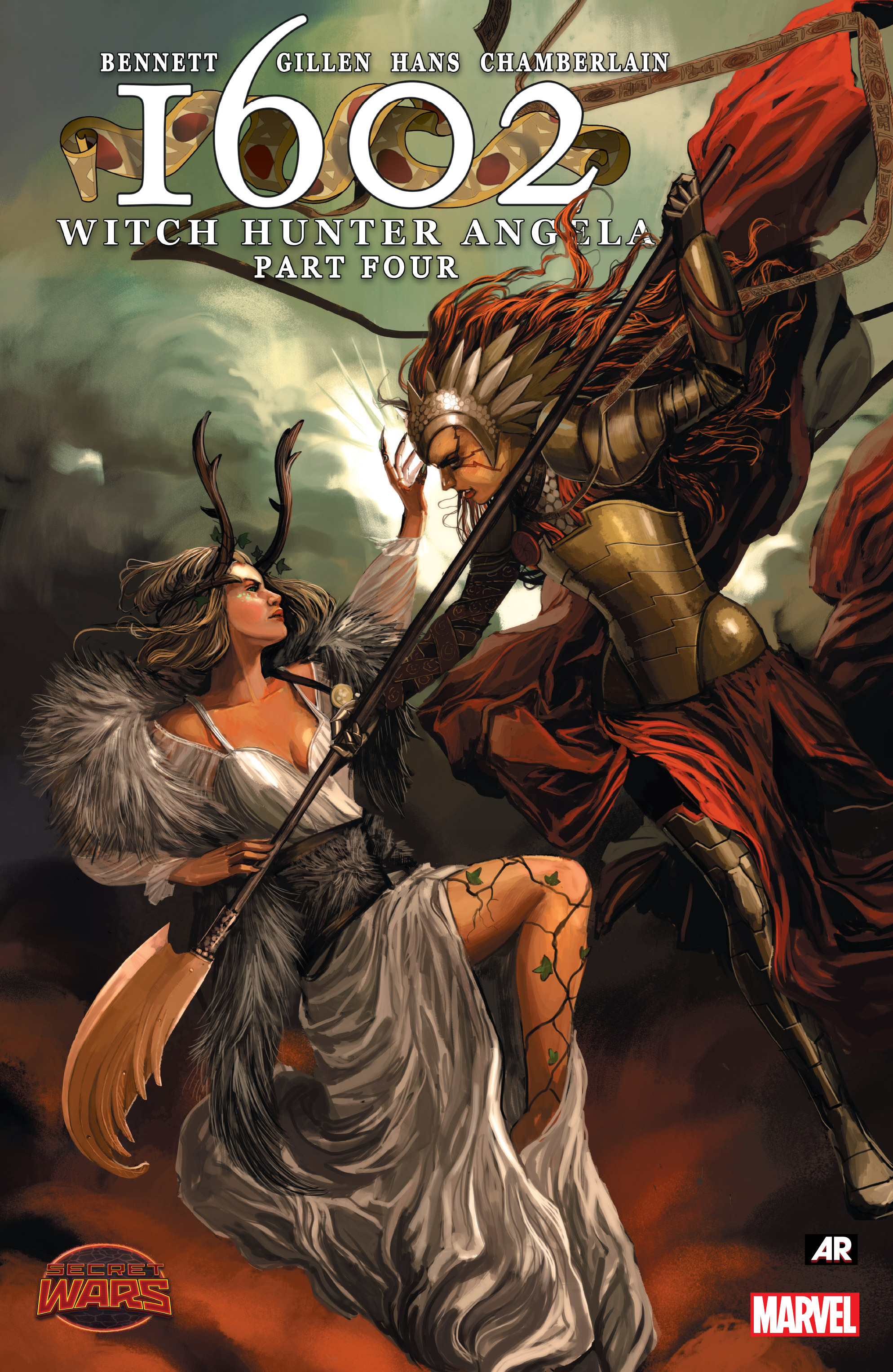 Read online 1602 Witch Hunter Angela comic -  Issue #4 - 1
