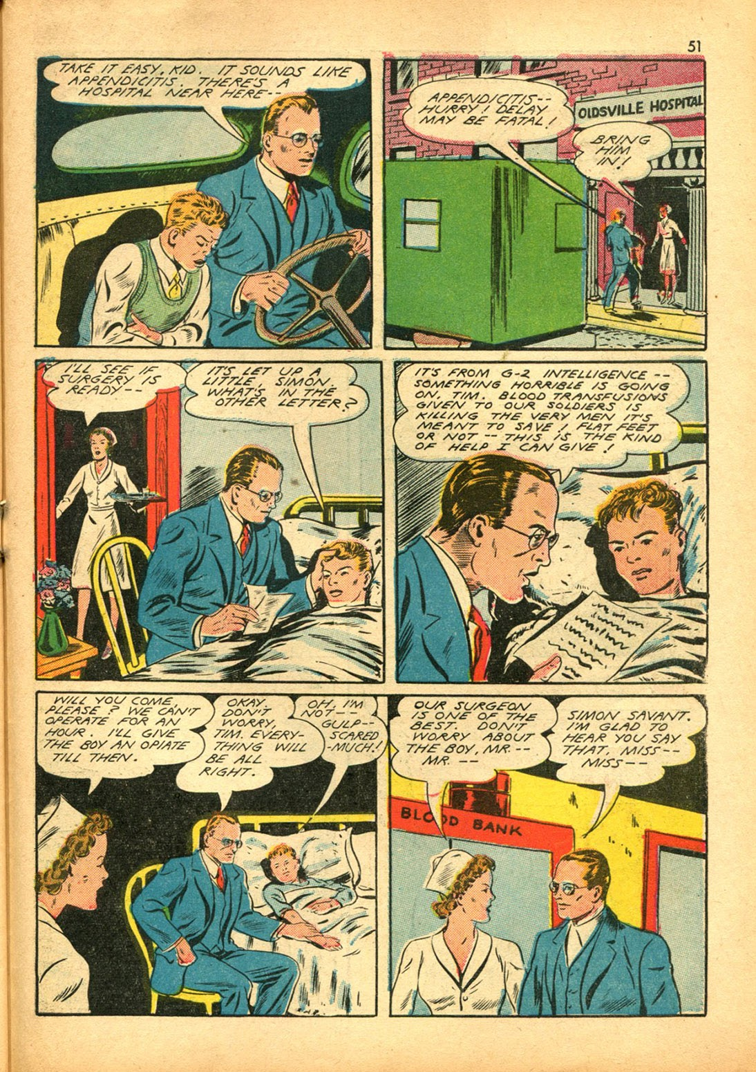 Read online Super-Magician Comics comic -  Issue #15 - 50