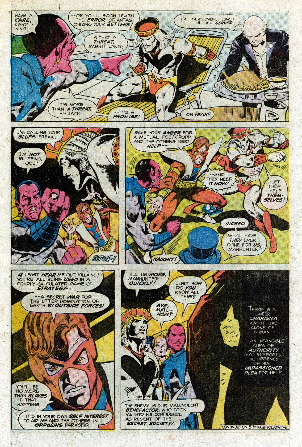 Read online Secret Society of Super-Villains comic -  Issue #3 - 15
