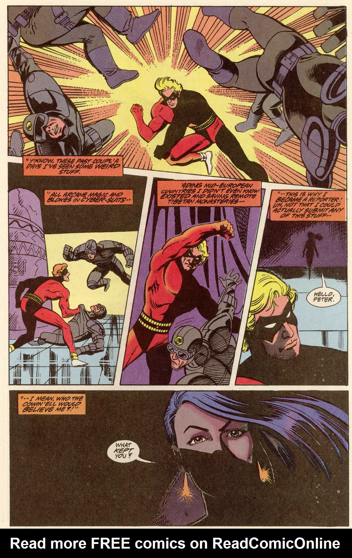 Read online Peter Cannon--Thunderbolt (1992) comic -  Issue #12 - 19