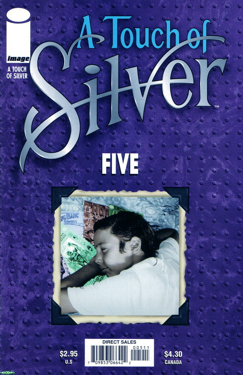 A Touch of Silver issue 5 - Page 1