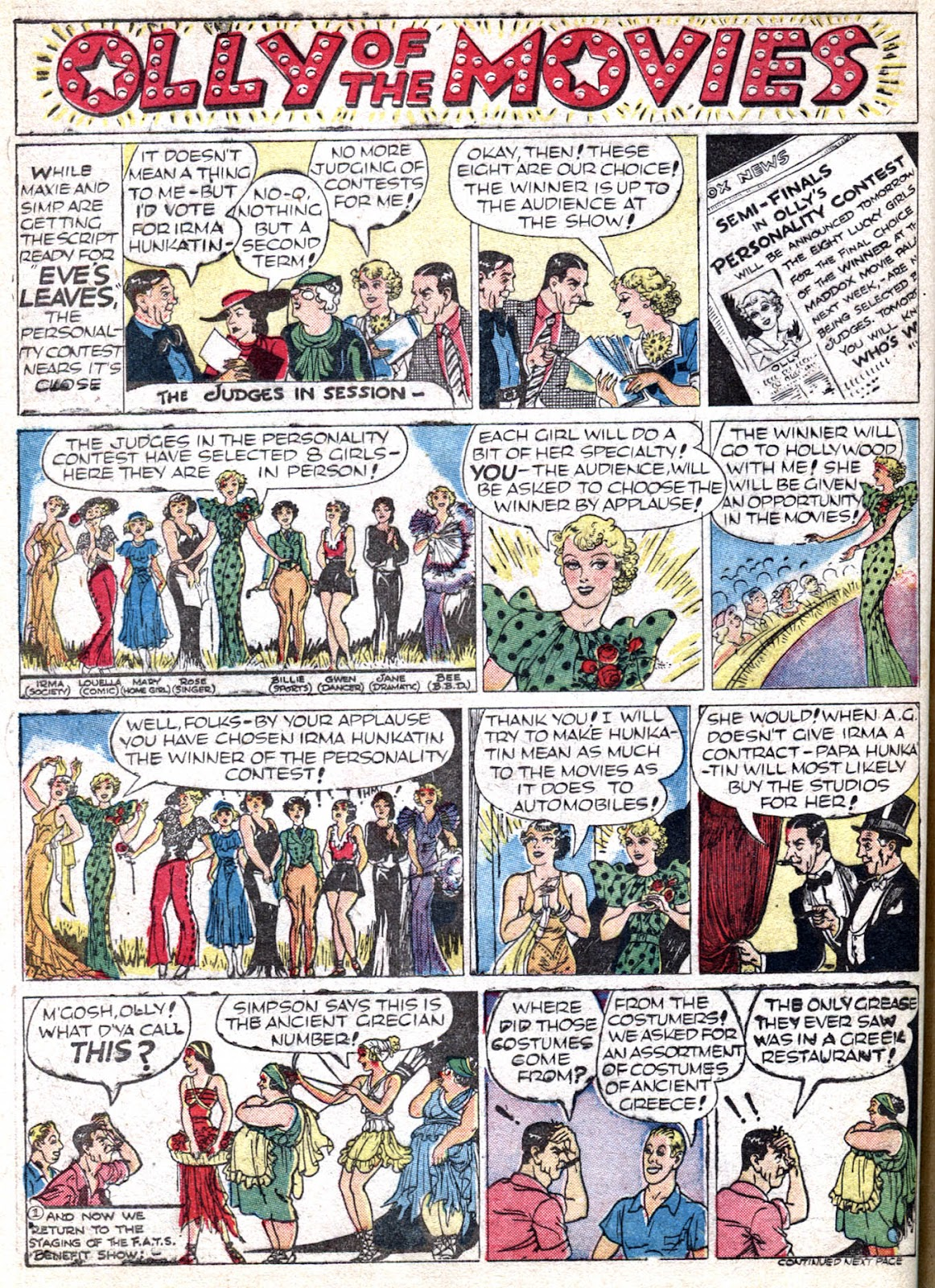 Read online Famous Funnies comic -  Issue #66 - 44