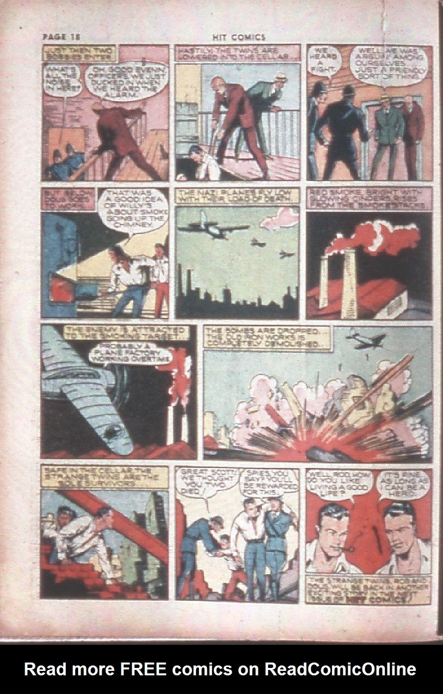 Read online Hit Comics comic -  Issue #8 - 20