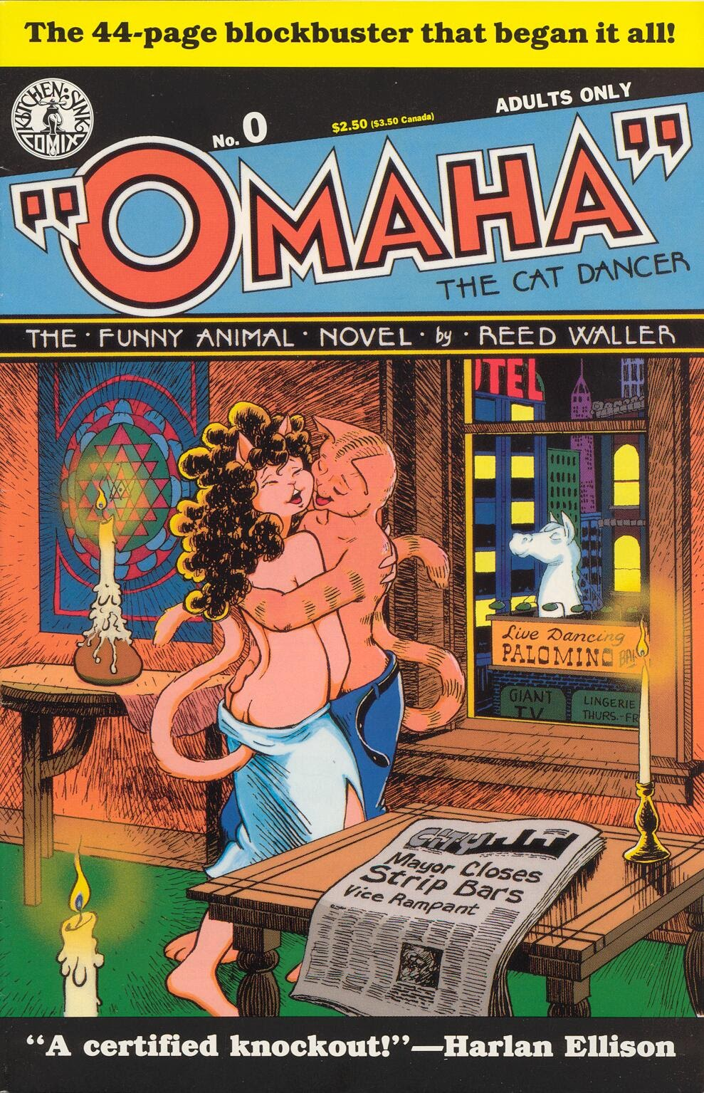 Omaha the Cat Dancer (1986) 0 Page 1