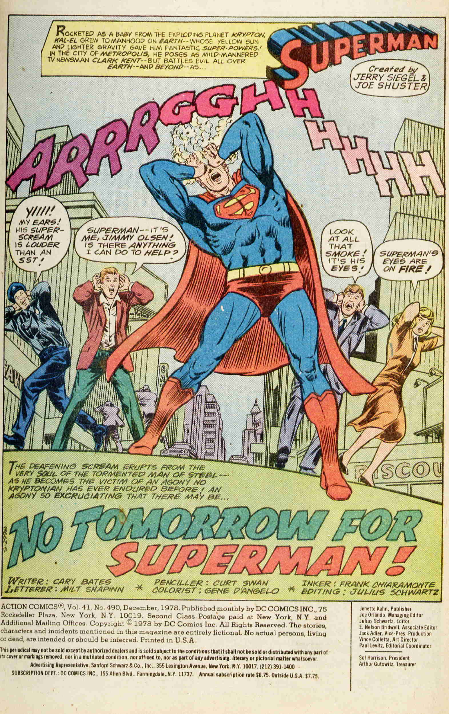 Read online Action Comics (1938) comic -  Issue #490 - 2