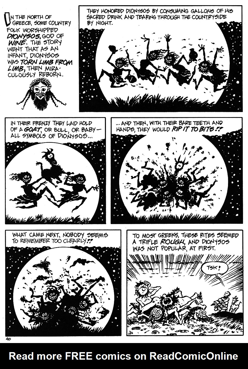 Read online The Cartoon History of the Universe comic -  Issue #5 - 42