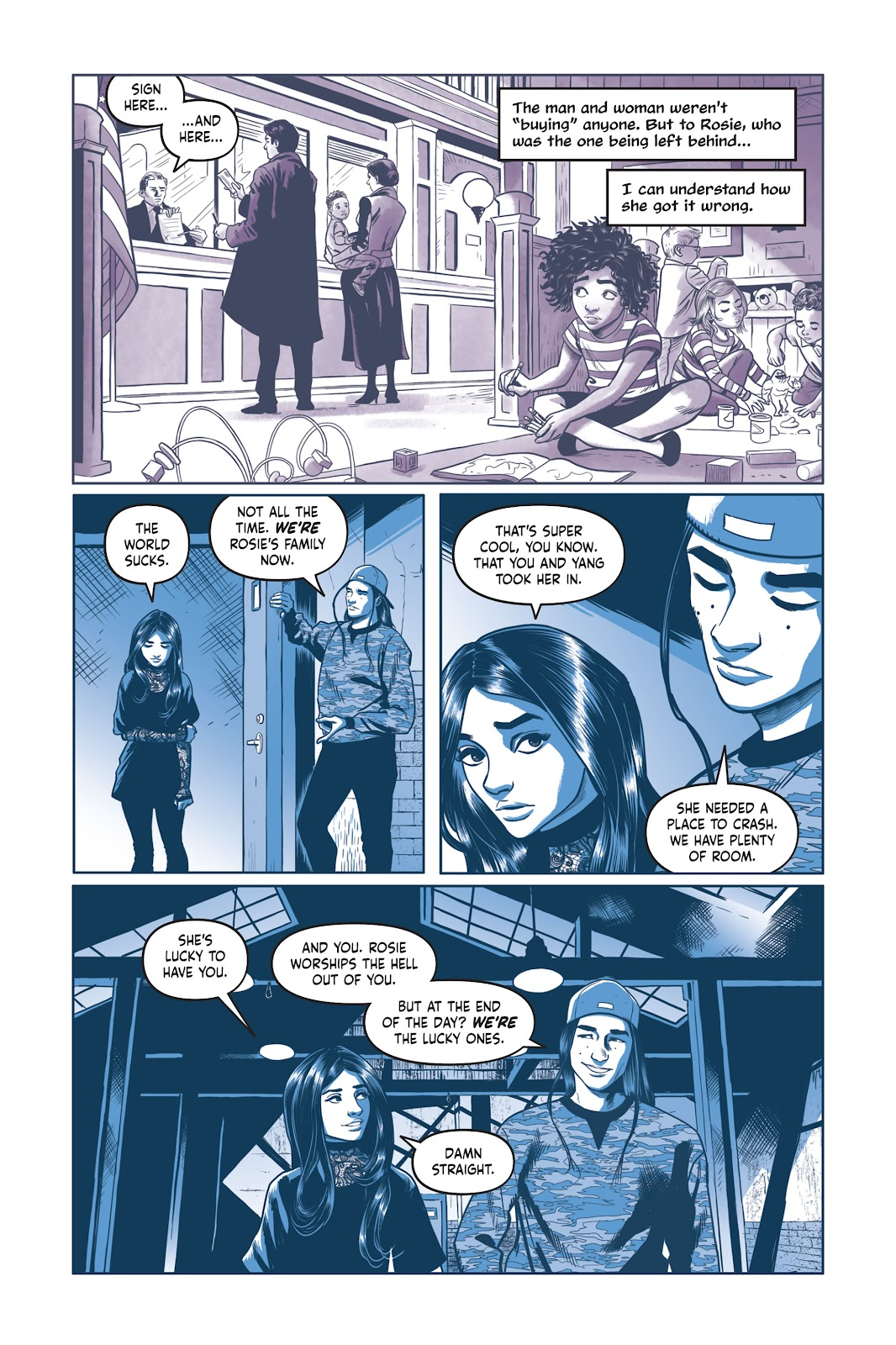 Read online Under the Moon: A Catwoman Tale comic -  Issue # TPB (Part 2) - 39