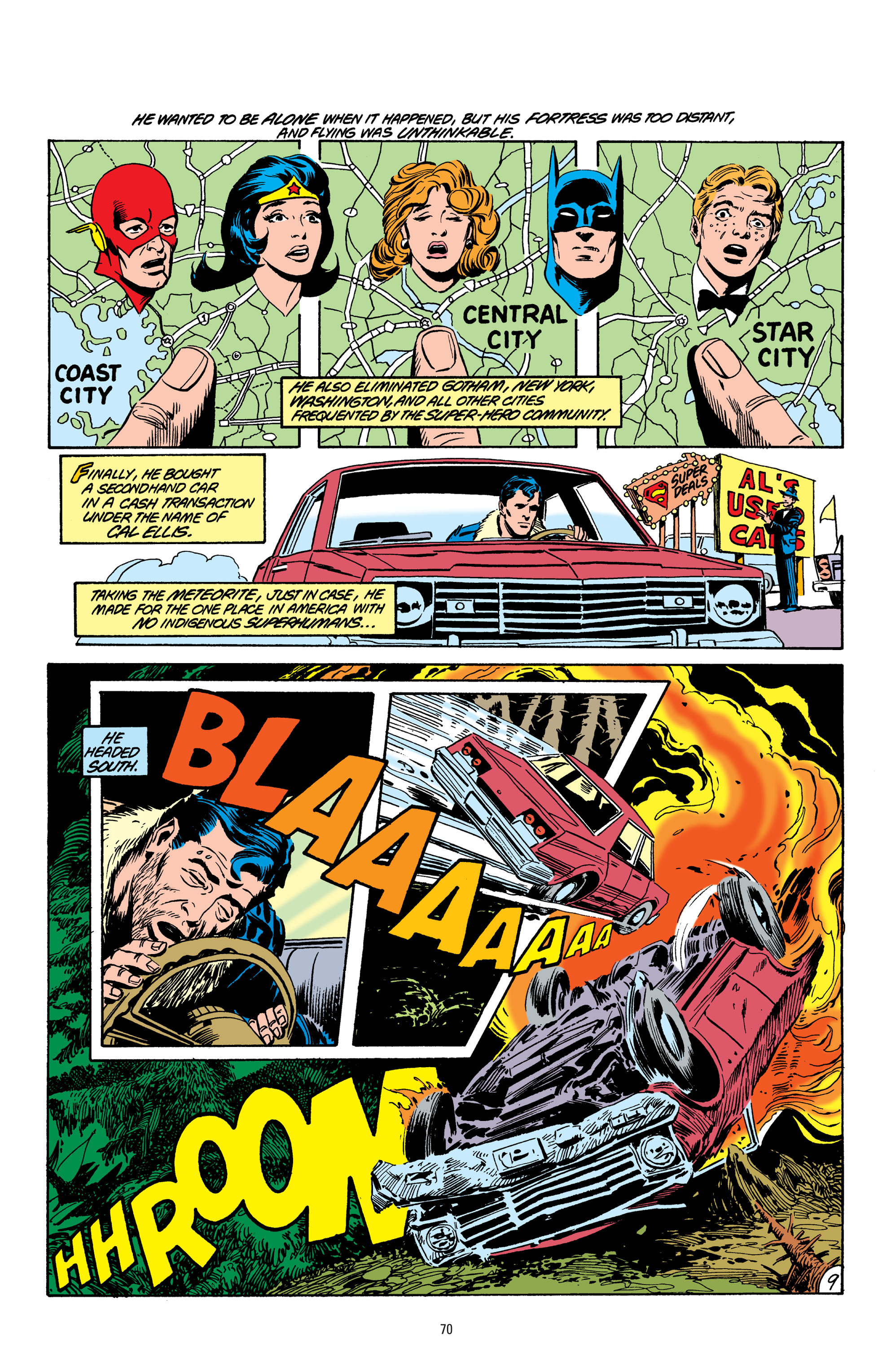Read online Superman: Whatever Happened to the Man of Tomorrow? comic -  Issue # TPB - 69