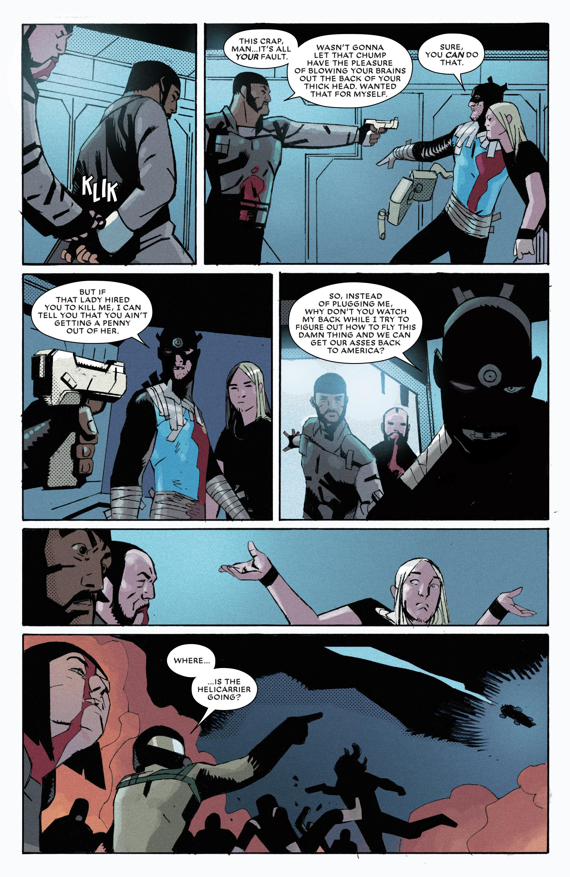 Read online Bullseye comic -  Issue #5 - 14