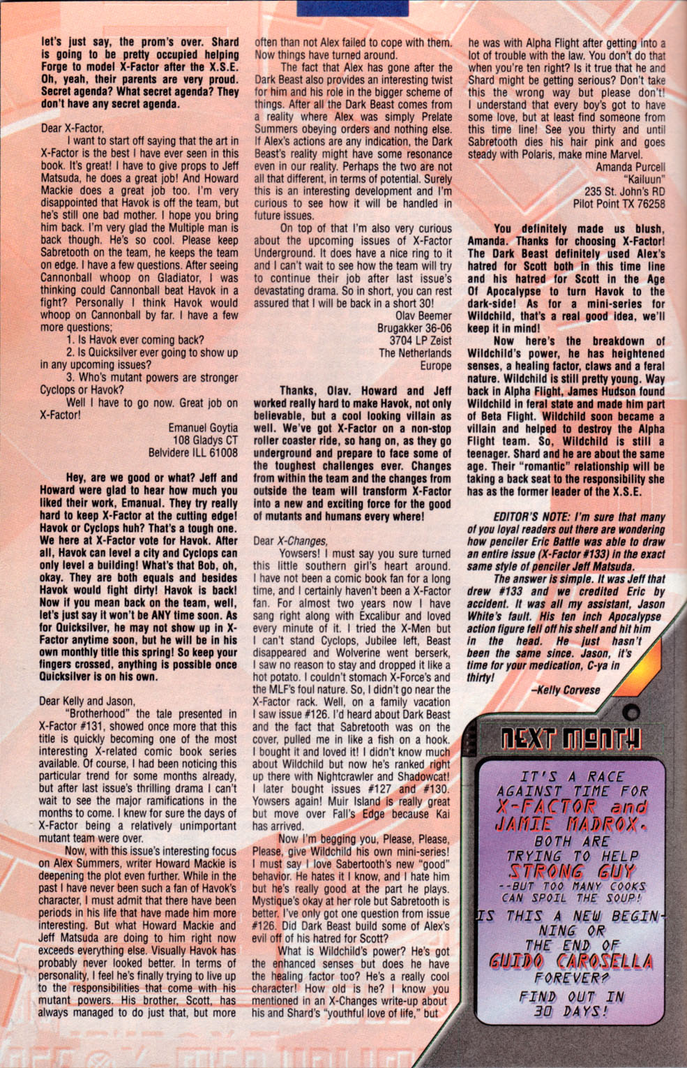 Read online X-Factor (1986) comic -  Issue #134 - 25