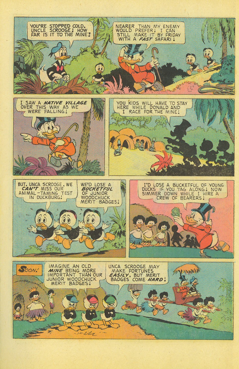 Read online Uncle Scrooge (1953) comic -  Issue #127 - 10