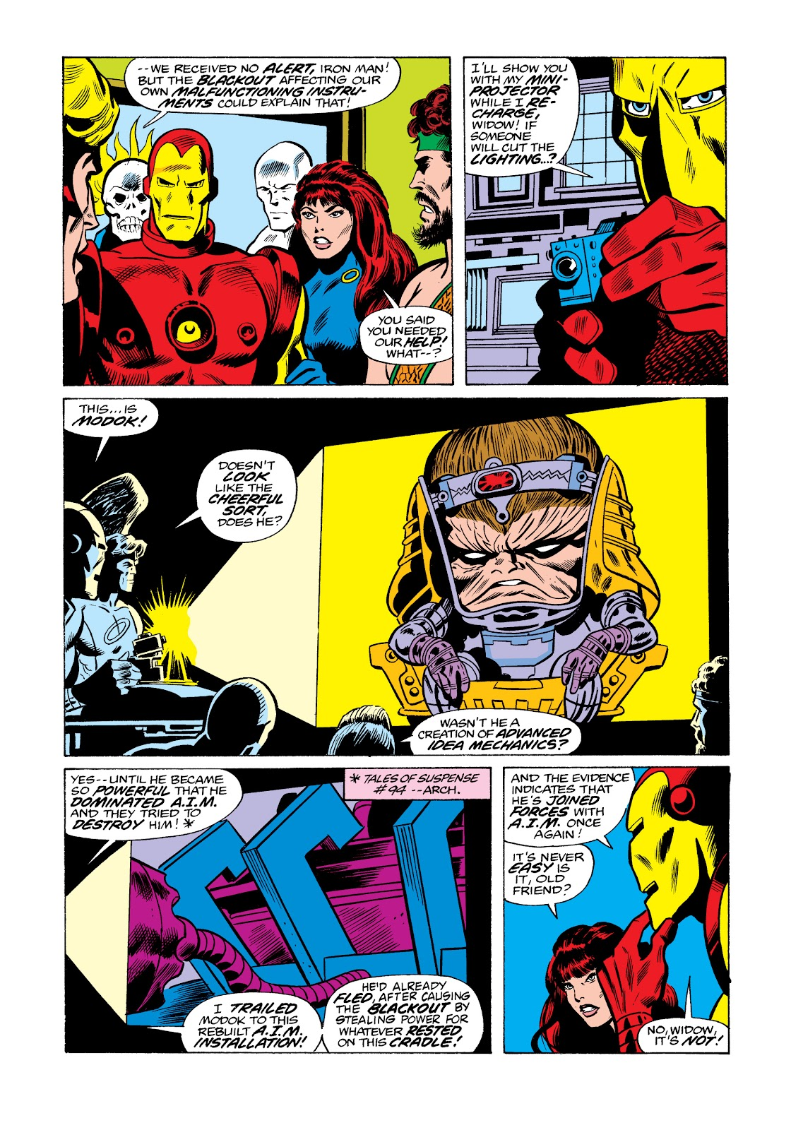 Read online Marvel Masterworks: The Invincible Iron Man comic -  Issue # TPB 11 (Part 3) - 94