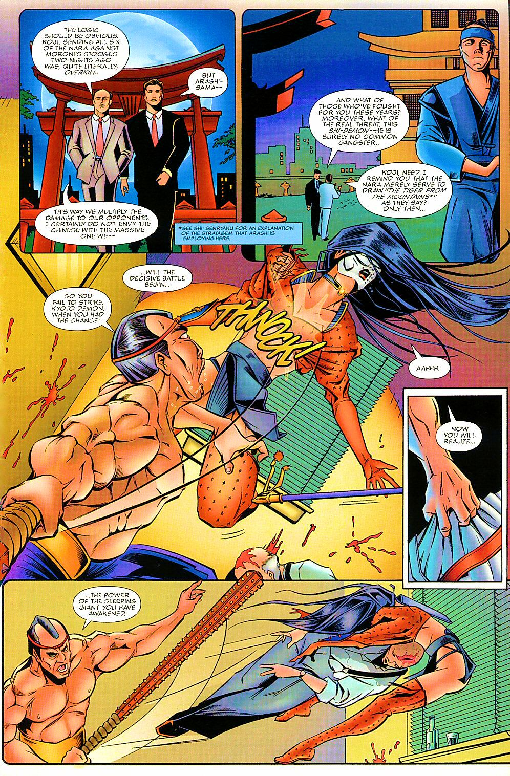 Read online Shi: The Way of the Warrior comic -  Issue #7 - 20