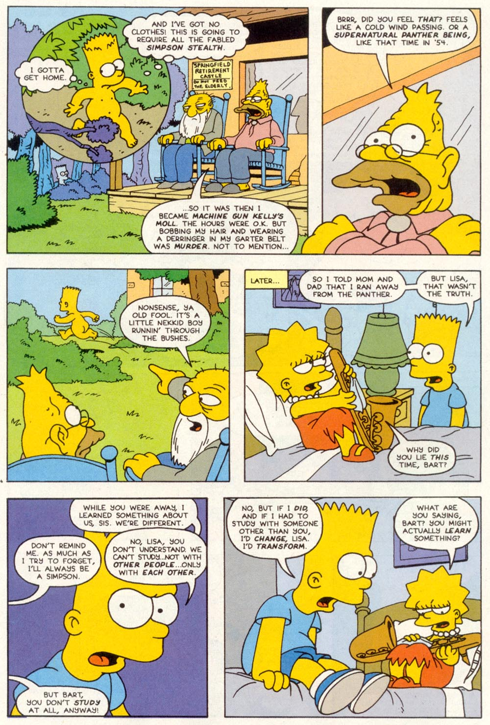 Read online Treehouse of Horror comic -  Issue #1 - 41