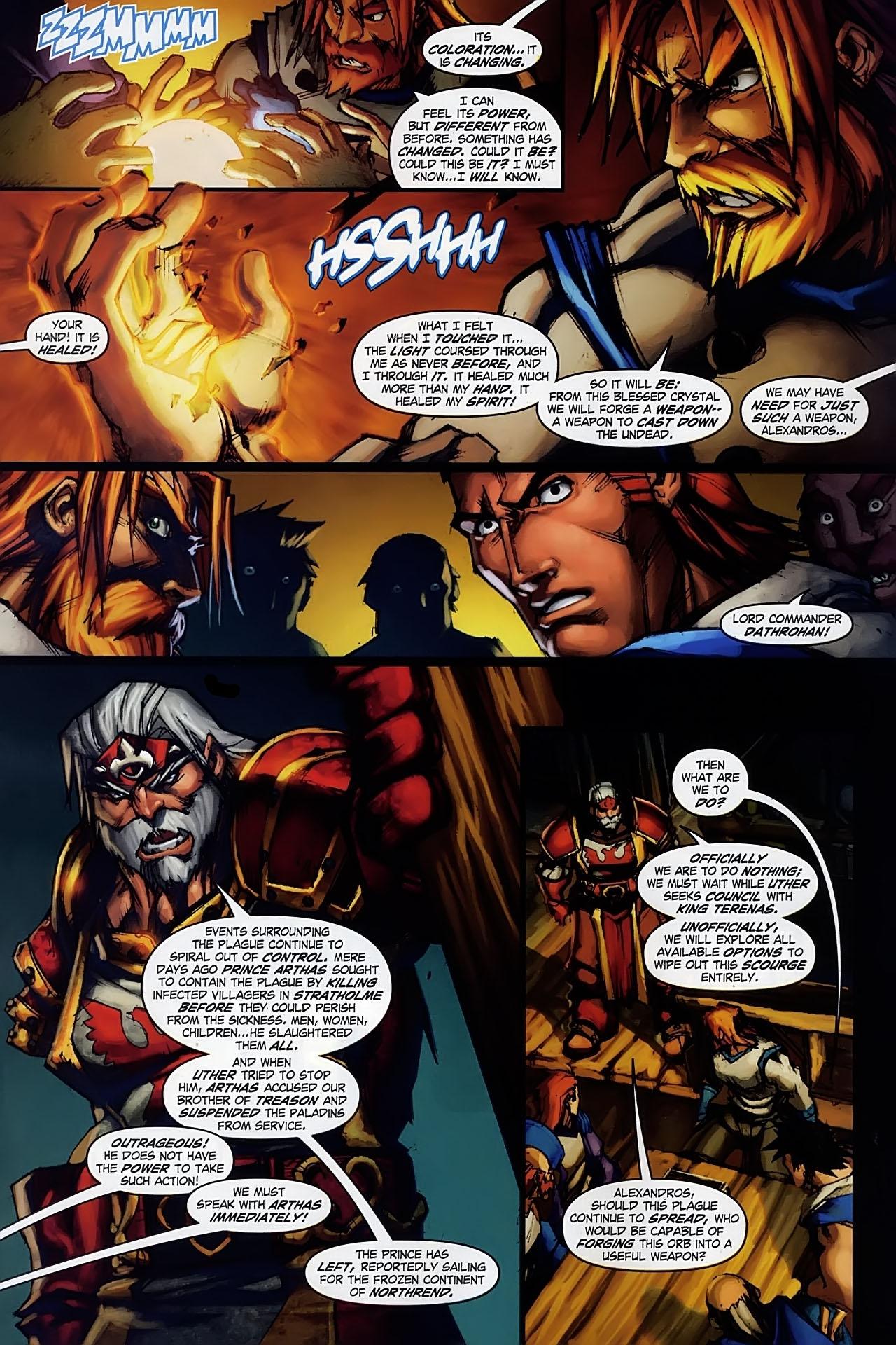 Read online World of Warcraft: Ashbringer comic -  Issue #1 - 11