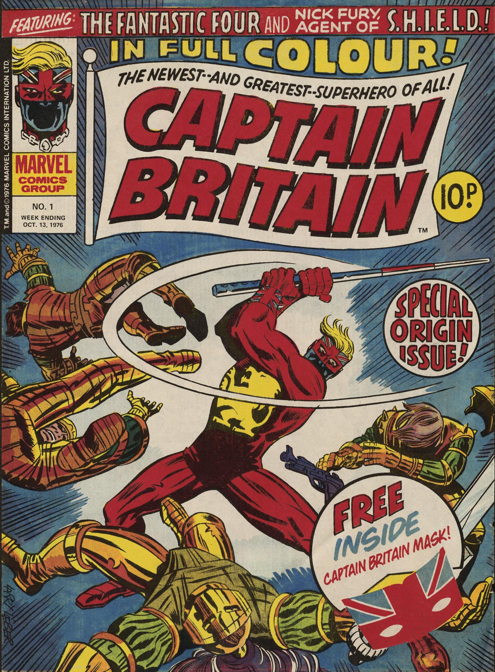Captain Britain (1976) 1 Page 1