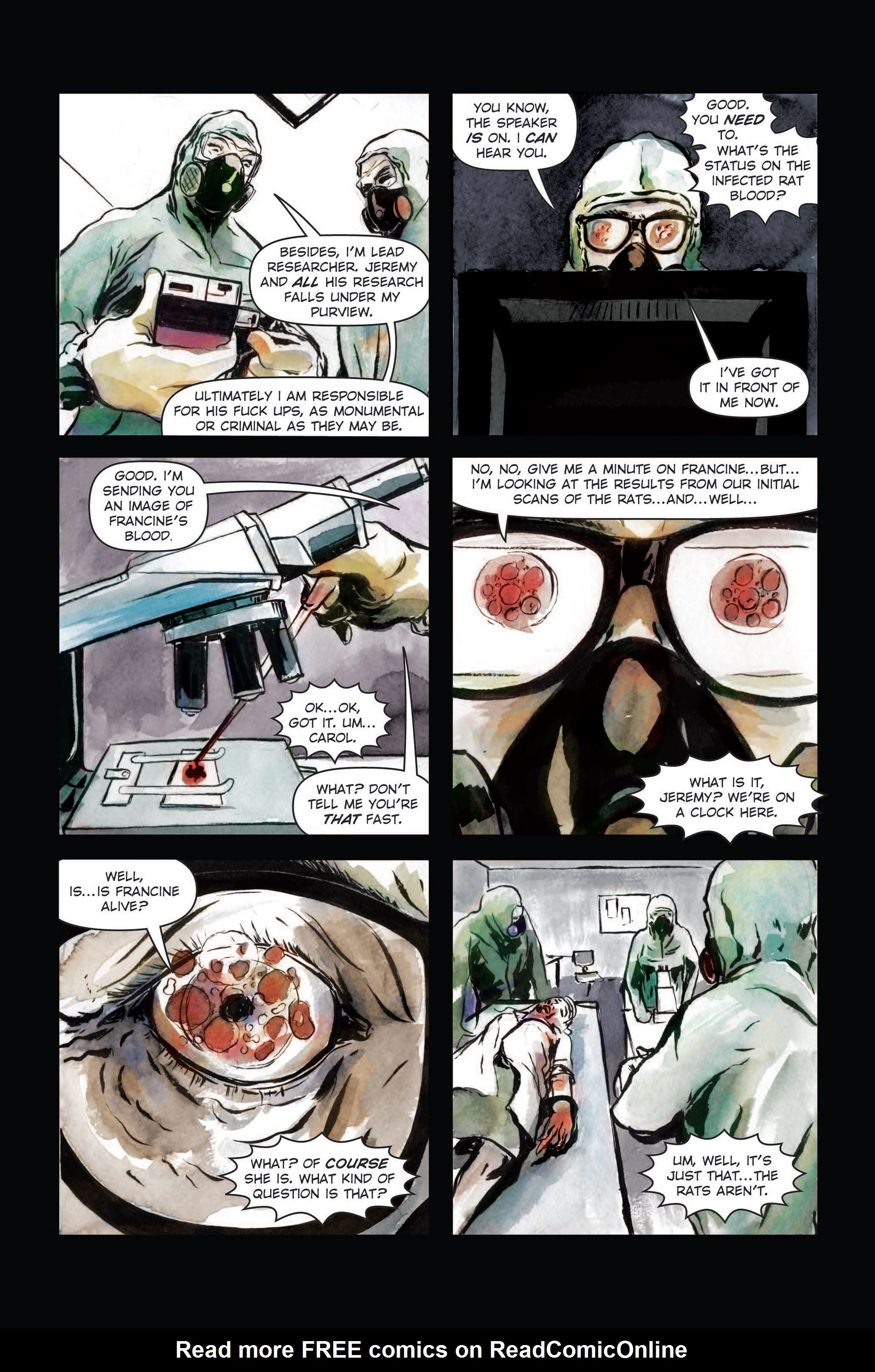 Read online The Final Plague comic -  Issue #3 - 9