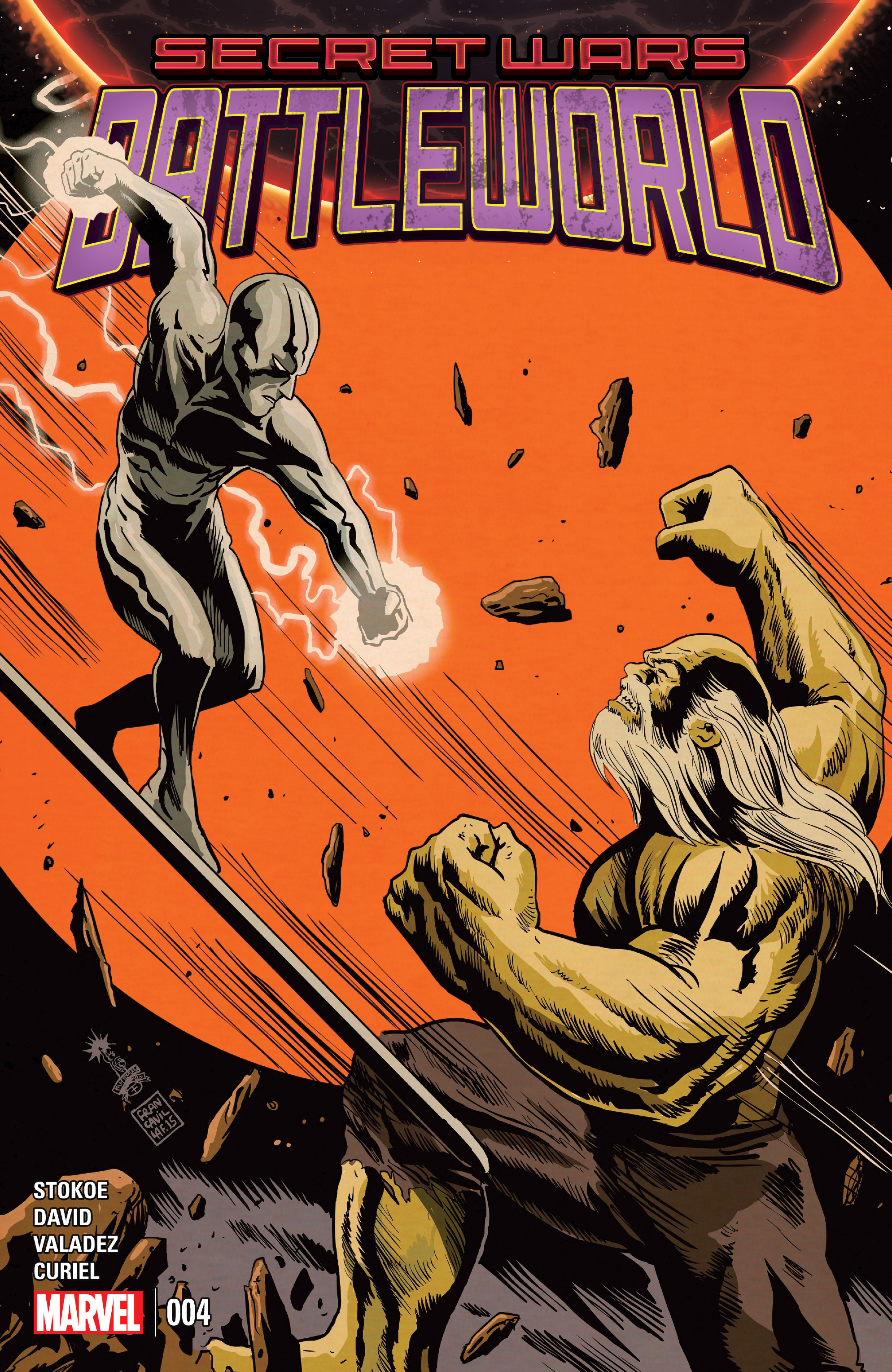 Read online Secret Wars: Battleworld comic -  Issue #4 - 1
