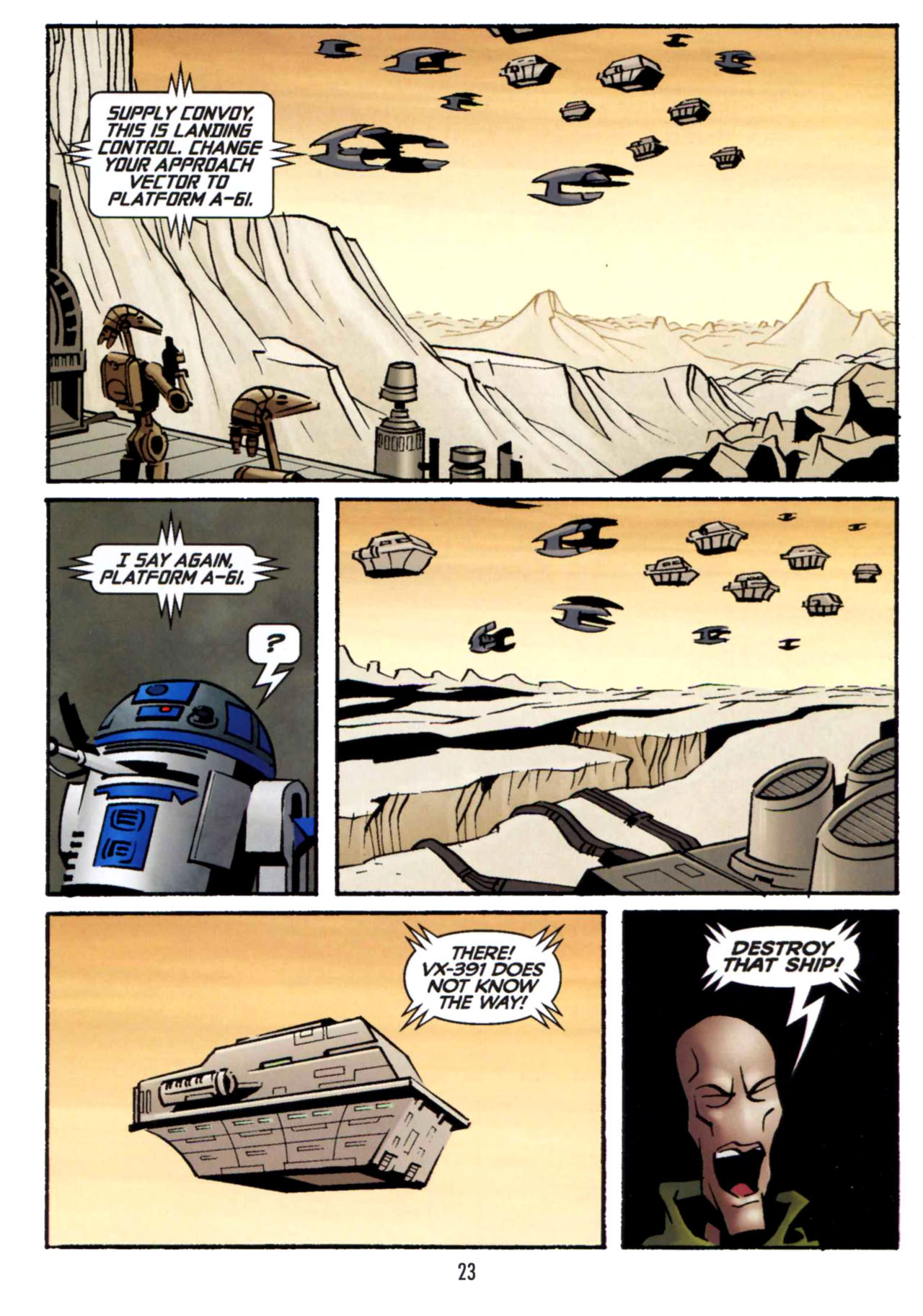 Read online Star Wars: The Clone Wars - Shipyards of Doom comic -  Issue # Full - 22