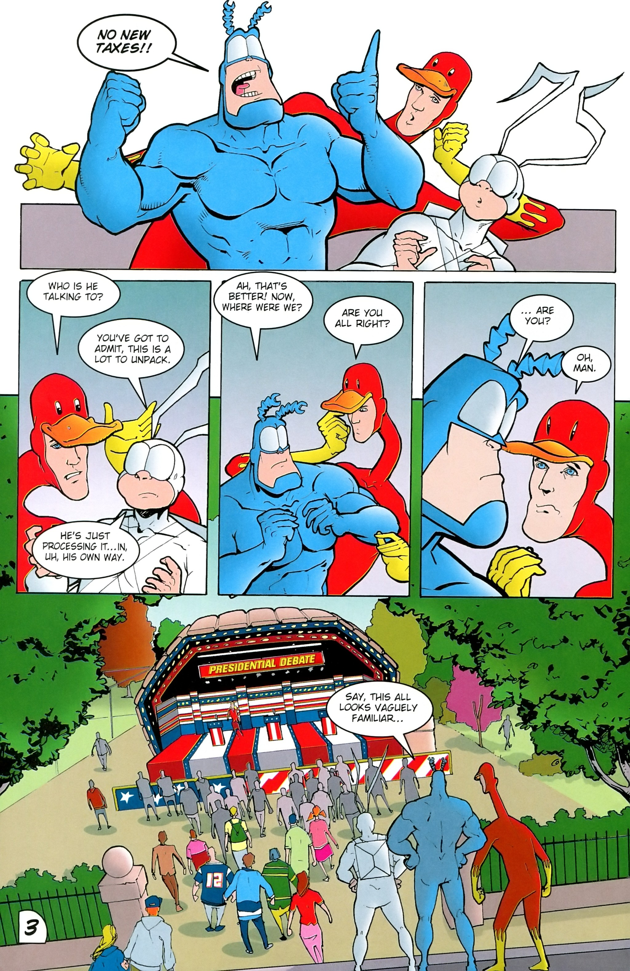 Read online Free Comic Book Day 2017 comic -  Issue # The Tick - 20