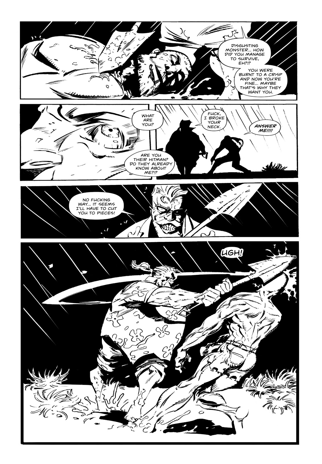 Read online Wrath of God comic -  Issue # _TPB - 53