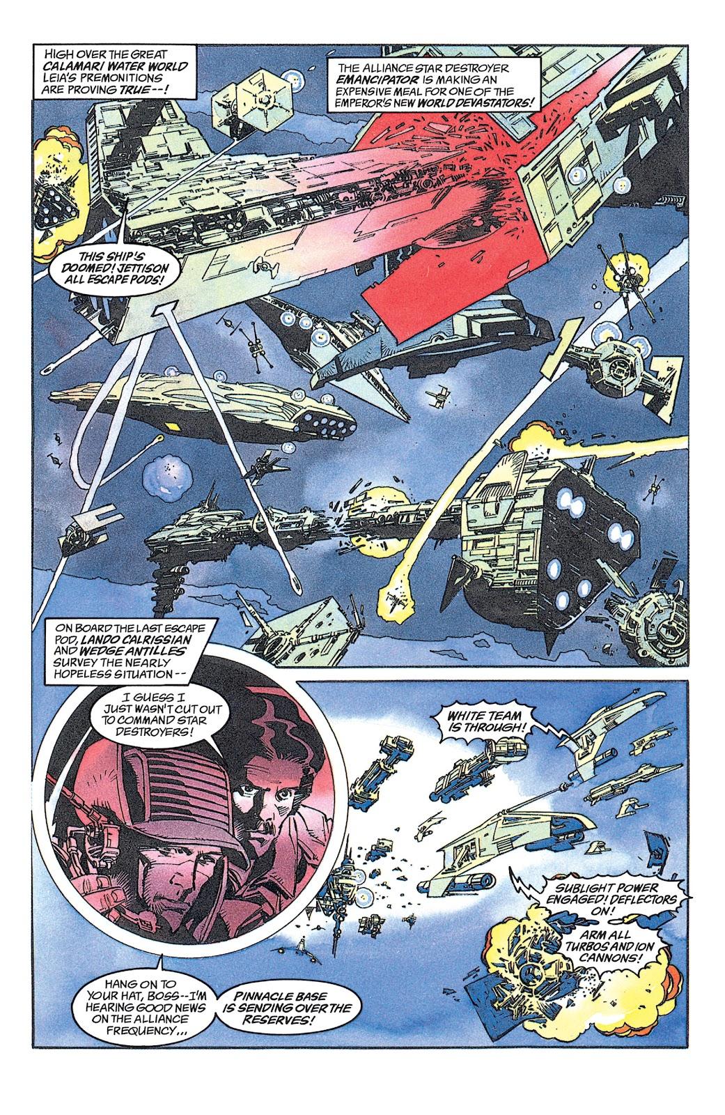 Read online Star Wars: Dark Empire Trilogy comic -  Issue # TPB (Part 1) - 89