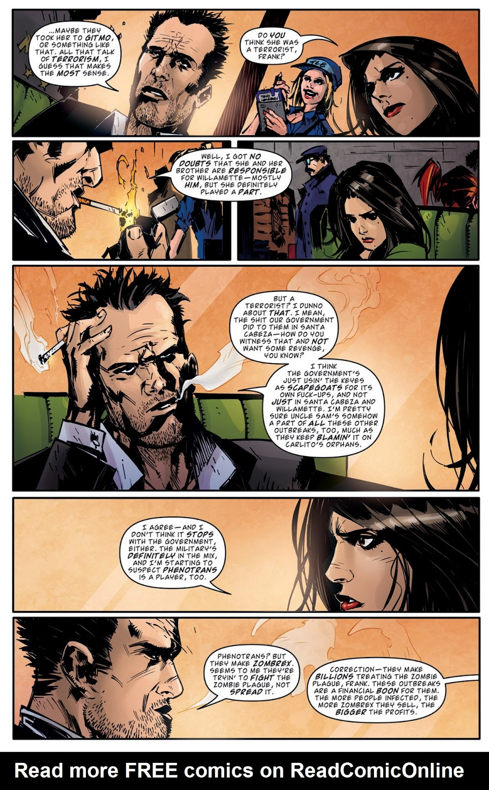 Read online Dead Rising: Road to Fortune comic -  Issue #2 - 22
