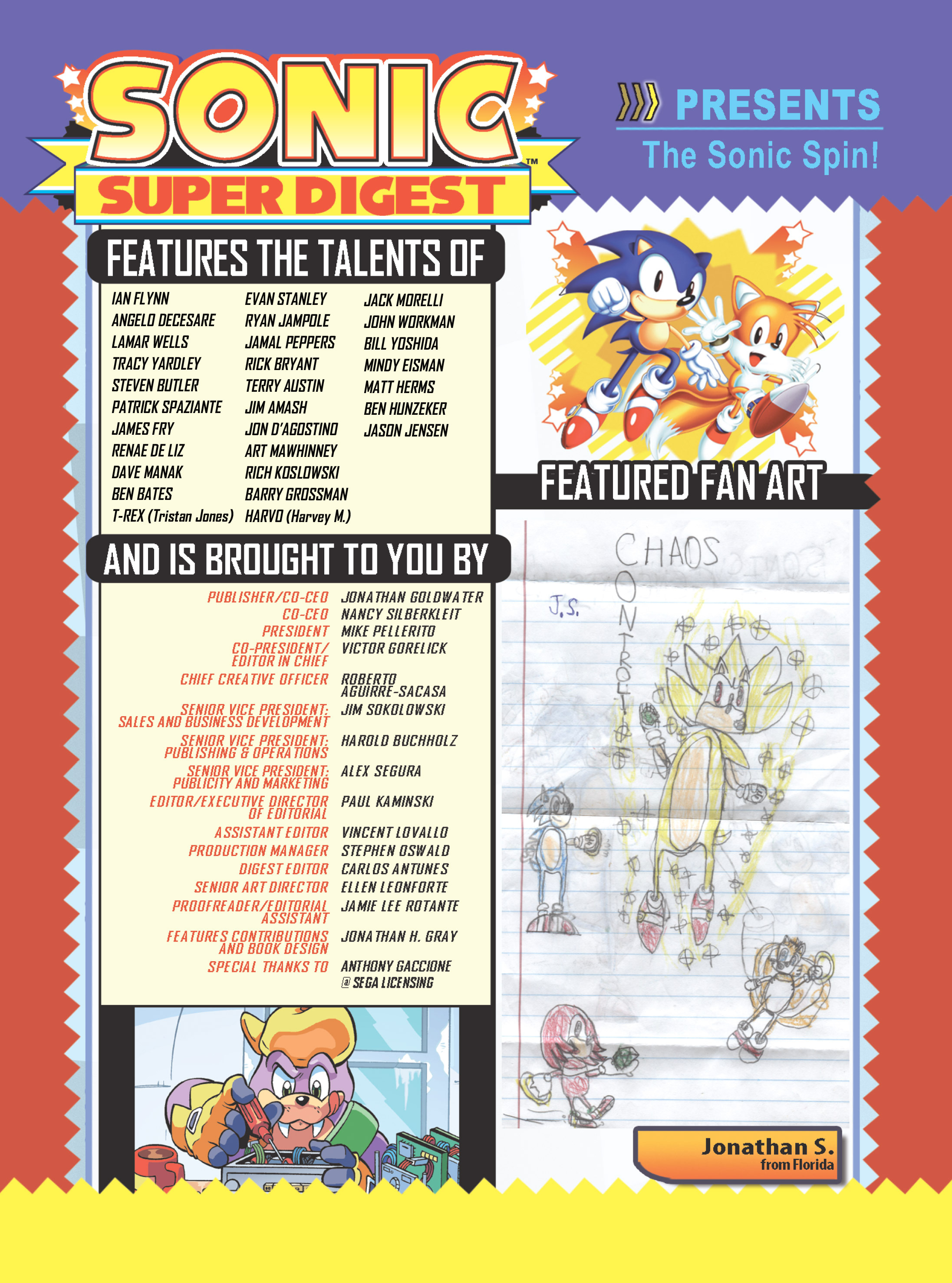 Read online Sonic Super Digest comic -  Issue #7 - 116