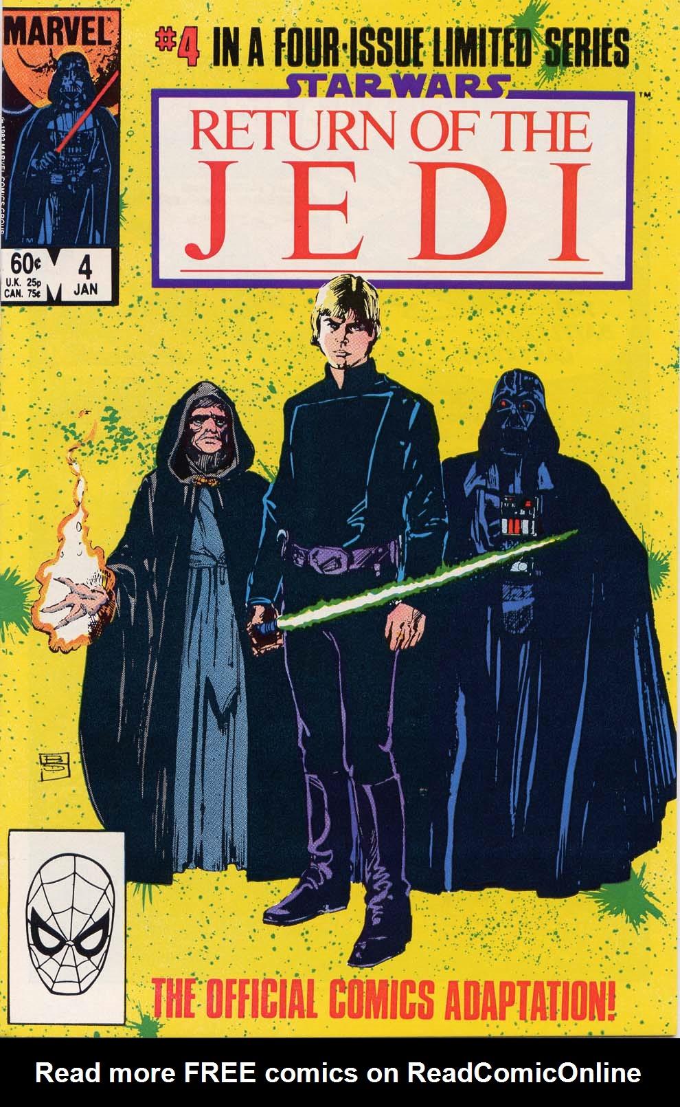 Star Wars: Return of the Jedi 4 Page 1