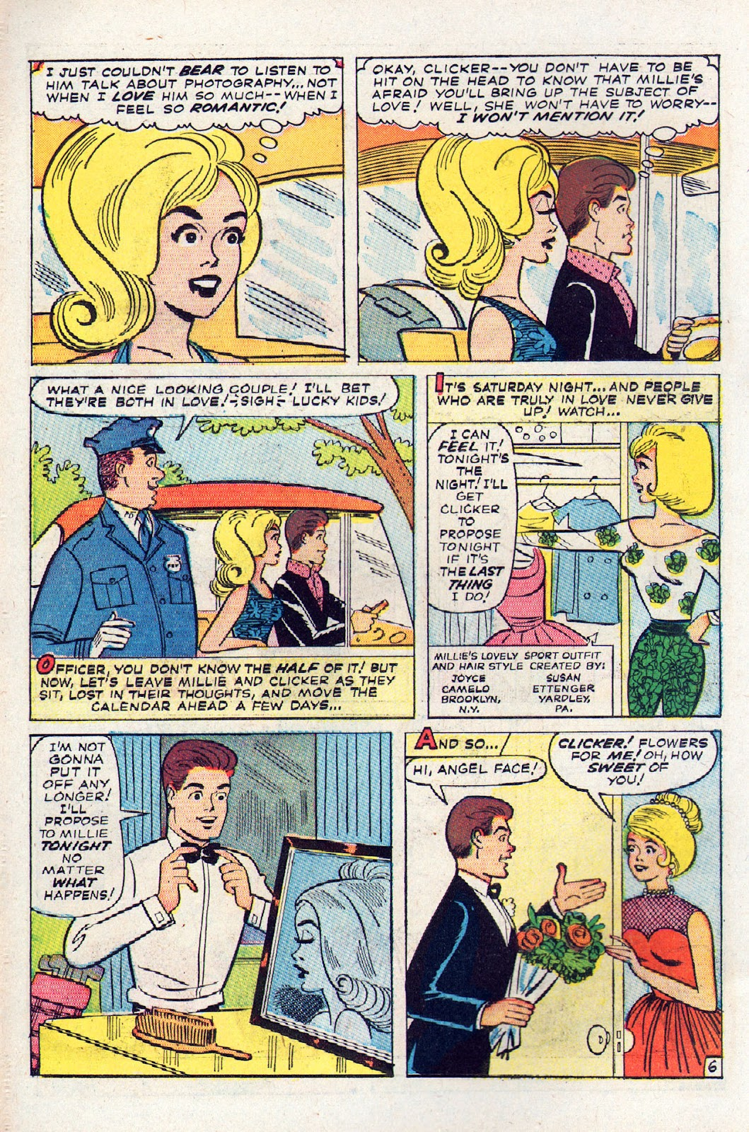Read online Millie the Model comic -  Issue # Annual 2 - 8