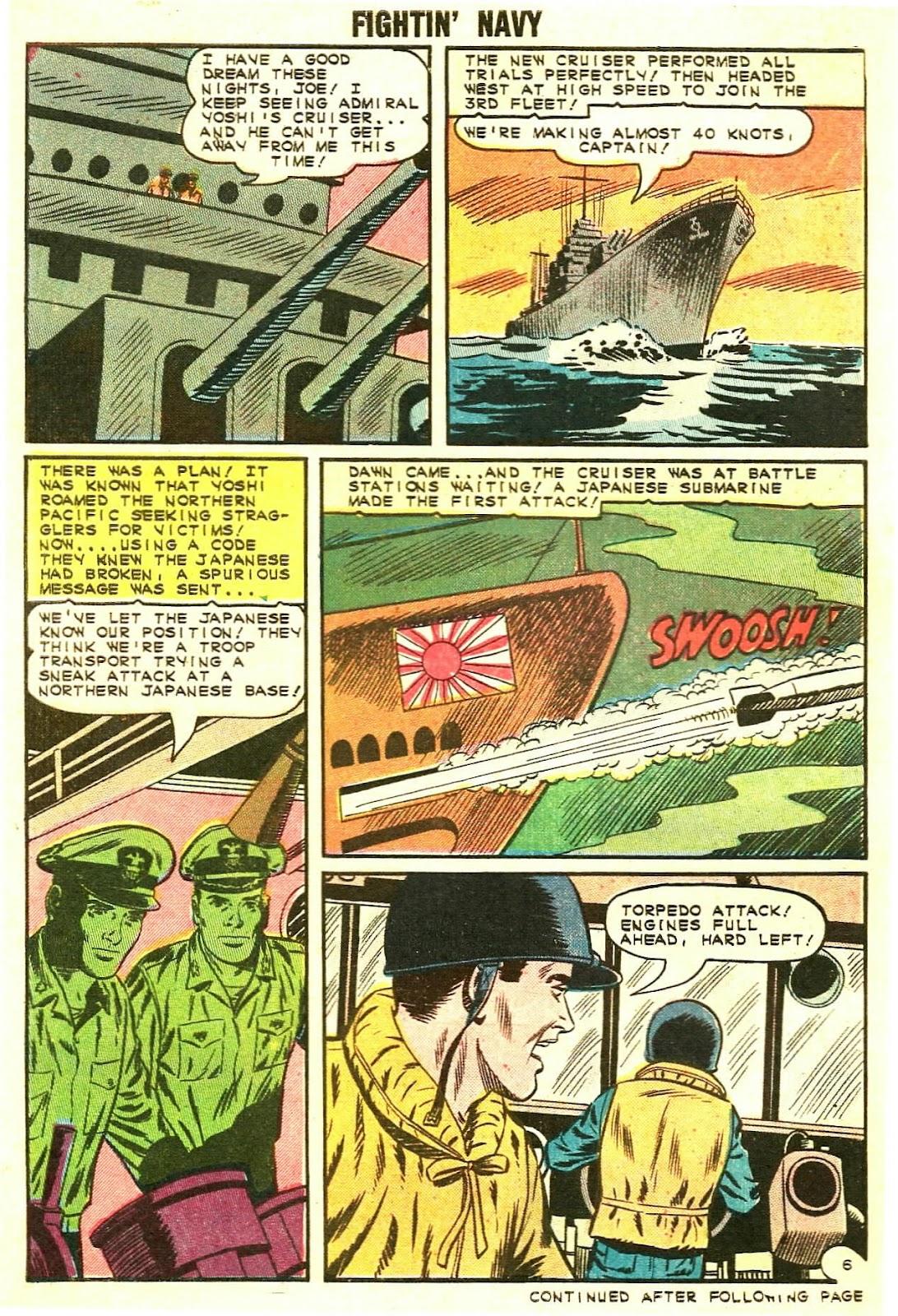 Read online Fightin' Navy comic -  Issue #119 - 30